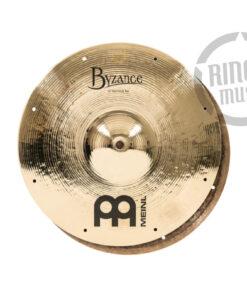 "Meinl Byzance Brilliant Fast Hi-hat 13"" B13FH Cymbals Cymbal Piatto Piatti"