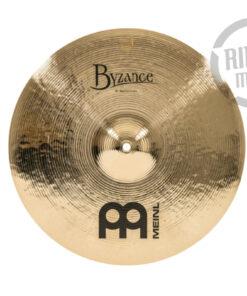 "Meinl Byzance Brilliant Medium Crash 16"" B16MC-B Cymbals Cymbal Piatto Piatti"