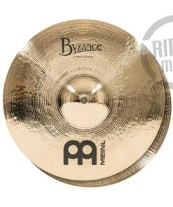 """Meinl Byzance Brilliant Medium Hi-hat 13"""" B13MH-B Cymbals Cymbal Piatto Piatti"""