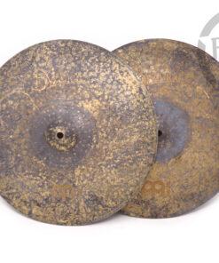 Meinl Vintage Pure Hi-hat 15 Cymbal Cymbals Piatti Piatto Drum Drums Batteria
