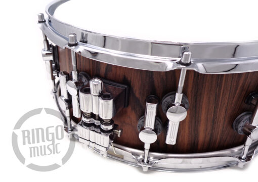 "Sonor SQ2 Birch Rosewood Replica Veneer 14x6"" Vintage Shell Snare Snaredrum Rullante Drum Drums Batteria Germany"