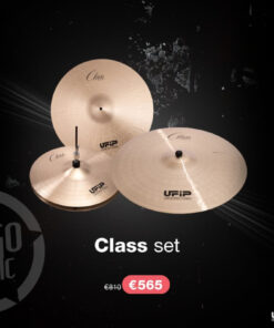 """Ufip Class Set 16""""/20""""/14"""" + Borsa professionale omaggio piatti piatto cymbal cymbals"""