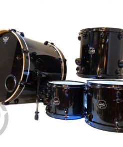 Mapex Armory 20 Transparent Black Birch Maple Drum Drums Batteria