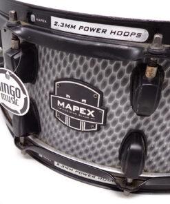 Mapex Meridian Black 14x5.5 Maple Birch Viper Snare Snaredrum Drum Drums Batteria Rullante
