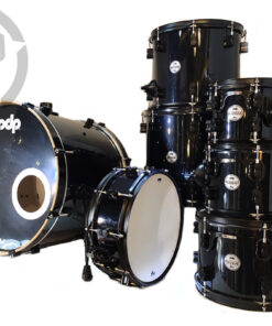 "PDP Concept Maple Pearlescent Black 22"" 7pz PDCM2217 Drum Drums Batteria"