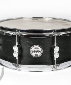"PDP by DW Pacific Concept Series 13x5.5"" Black Wax snare snaredrum rullante"