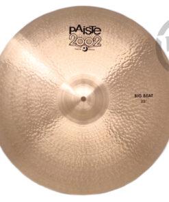 """Paiste 2002 Black Big Beat 22"""" Cymbal Cymbals Piatto Piatti"""
