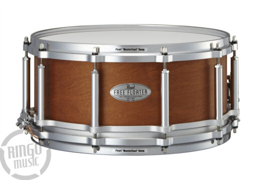 Pearl Free Floating Maple Mahogany 14_x6.5_ FTMMH1465 Rullante Snare Snaredrum Drum
