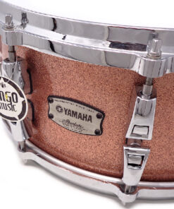 Yamaha Absolute Hybrid Maple 14x6 Pink Champagne Sparkle PCS Snare Snaredrum Rullante