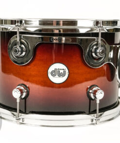 "DW Design Frequent Flyer Tobacco Burst Lacquer 20"" 4pz drum drums batteria made in usa"