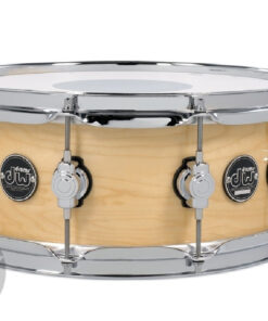 DW Performance Lacquer Maple 14x5.5_ Natural Made In Usa Snare Snaredrum Rullante