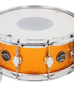 DW Performance Maple Made In Usa Snare Snaredrum Rullante Gold Sparkle
