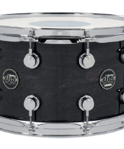 DW Performance Maple Made In Usa 14x8 Snare Snaredrum Rullante Ebony Stain