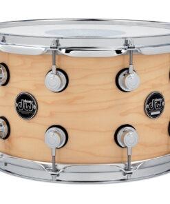 DW Performance Maple Made In Usa 14x8 Snare Snaredrum Rullante Natural