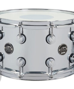 DW Performance Steel 14x8 Made In Usa Snare Snaredrum Rullante