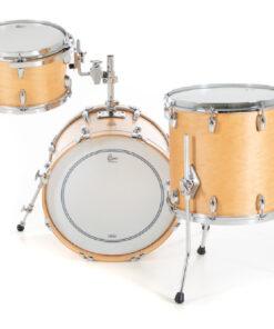 Gretsch Broadkaster Satin Natural 18 3pz drums drumset batteria acero pioppo usa