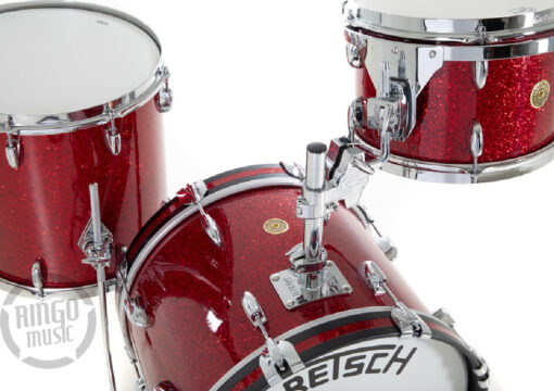 Gretsch Broadkaster USA Series 18 3pz Red Glass drums drumset batteria maple poplar acero pioppo