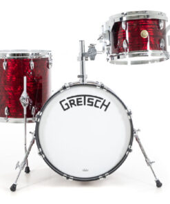 Gretsch Broadkaster USA Series 18 3pz Ruby Red Pearl Drums Drumset batteria acero pioppo maple poplar