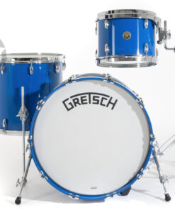 Gretsch Broadkaster USA Series 22 3pz GlossCobalt Blue Drums Drumset batteria acero pioppo maple poplar