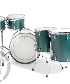 "Gretsch Usa Custom Cadillac Green Gloss 22"" 5pz Drum Drums Drumset Maple Batteria"