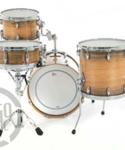 Gretsch Usa Custom Limited Edition Exotic River Cypress 18_ 4pz Drum Drums Drumset Maple Batteria