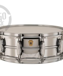 Ludwig LB400B 14x5 Chrome Over Brass Chromed plated smooth shell snare snaredrum rullante drumsnare