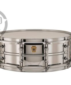 Ludwig LB400BT 14x5 Chrome Over Brass Chromed plated smooth shell snare snaredrum rullante drumsnare