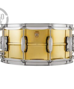 Ludwig Super Series LB403 14x6.5 Brass Chromed lacquer plated smooth shell snare snaredrum rullante drumsnare