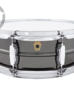 Ludwig Black Beauty LB414 14x5 Brass Black Nickel plated smooth shell snare snaredrum rullante drumsnare