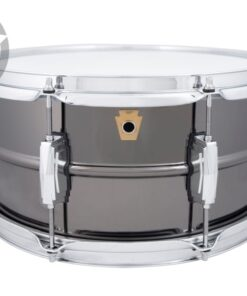 Ludwig Black Beauty LB415 14x6.5 Brass Black Nickel plated smooth shell snare snaredrum rullante drumsnare
