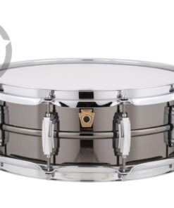 Ludwig Black Beauty LB416 14x5 Brass Black Nickel plated smooth shell snare snaredrum rullante drumsnare