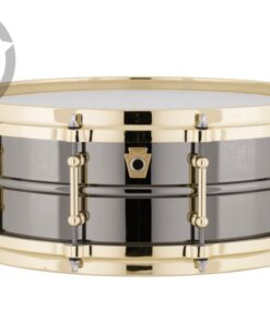 Ludwig Black Beauty LB416BT 14x5 Gold Die Cast Brass Black Nickel tube lugs plated smooth shell snare snaredrum rullante drumsnare