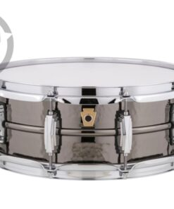 Ludwig Black Beauty LB416K 14x5 Brass Black Nickel plated hammered shell snare snaredrum rullante drumsnare