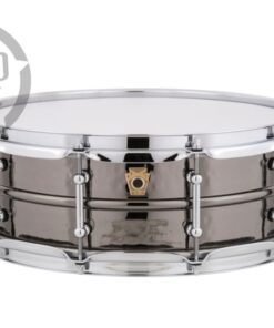 Ludwig Black Beauty LB416KT 14x5 Brass Tube Lugs Black Nickel plated hammered shell snare snaredrum rullante drumsnare