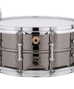 Ludwig Black Beauty LB417KT 14x6.5 Tube Lugs Brass Black Nickel plated hammered shell snare snaredrum rullante drumsnare