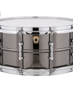 Ludwig Black Beauty LB417T 14x6.5 Brass Black Nickel Tube Lugs plated smooth shell snare snaredrum rullante drumsnare