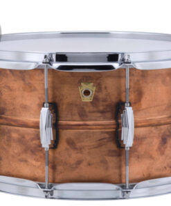 "Ludwig Raw Copper Phonic Copperphonic 14x8"" LC608R smooth shell snare snaredrum rullante drumsnare"