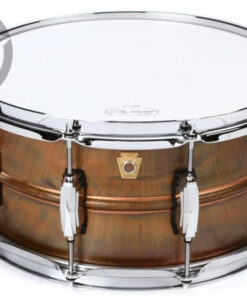 "Ludwig Raw Copper Phonic Copperphonic 14x6.5"" LC663 smooth shell snare snaredrum rullante drumsnare"