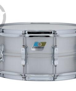 Ludwig Acrolite Aluminum 14x5 LM404C Alluminio smooth shell snare snaredrum rullante drumsnare