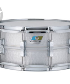Ludwig Acrolite Aluminum 14x6.5 Hammered LM405K Alluminio shell snare snaredrum rullante drumsnare