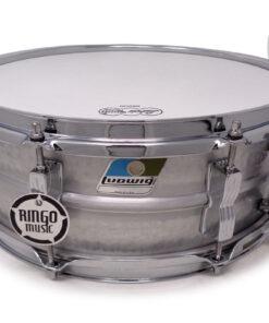 Ludwig Acrolite Aluminum 14x5 Hammered LM404K Alluminio shell snare snaredrum rullante drumsnare