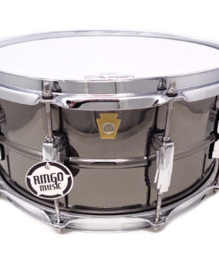 Ludwig Black Beauty LB417 14x6.5 Brass Black Nickel plated smooth shell snare snaredrum rullante drumsnare