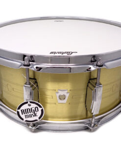 Ludwig Heirloom Anniversary Limited Edition LBR5514 14x5.5 Brass Ottone smooth shell snare snaredrum rullante drumsnare