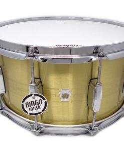 Ludwig Heirloom Anniversary Limited Edition LBR0714 14x5.5 Brass Ottone smooth shell snare snaredrum rullante drumsnare