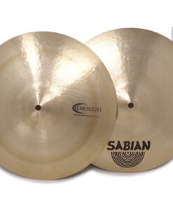 """Sabian Crescent Hammertone Jeff Hamilton Hi-hats 14"""" Selezione RingoMusic Cymbal Cymbals Piatto Piatti"""