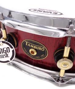 """Tamburo Opera Maple 14x4.5"""" Cherry Red snare snaredrum rullante"""