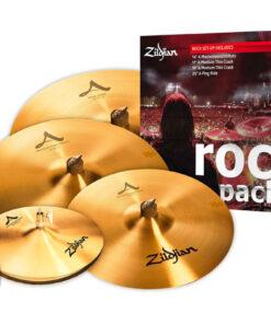 Zildjian A Rock Set Piatti 4pz cymbal cymbals piatto piatti