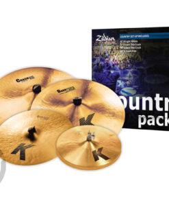 Zildjian K Country Series K0801C Set Piatti 4pz cymbal cymbal piatto piatti