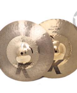 Zildjian K Custom Hybrid Hi-hat 13 Cymbal Cymbals Piatto Piatti