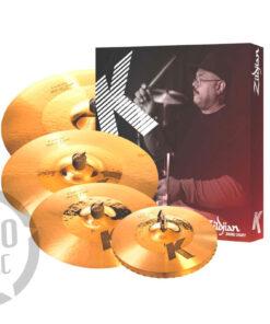 Zildjian K Custom Hybrid Series K1250 Set Piatti 4pz cymbal cymbal piatto piatti